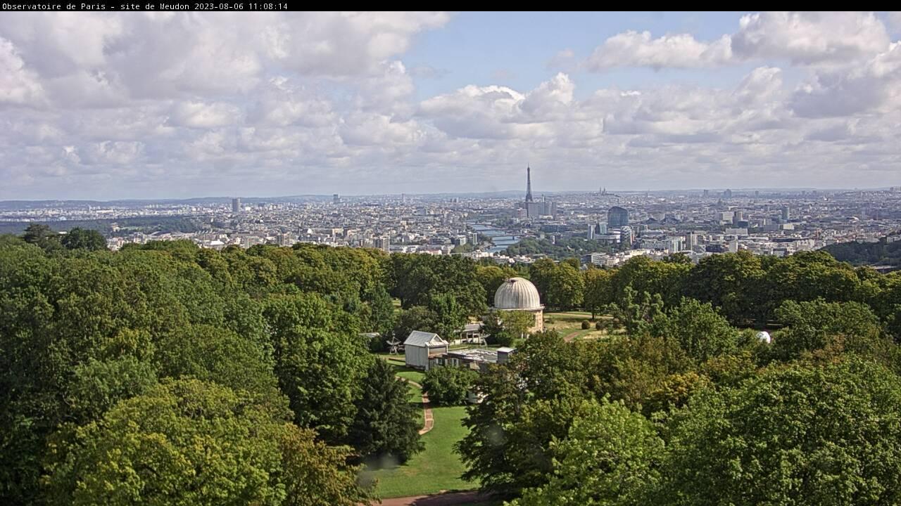Webcam observatoire de meudon Nord