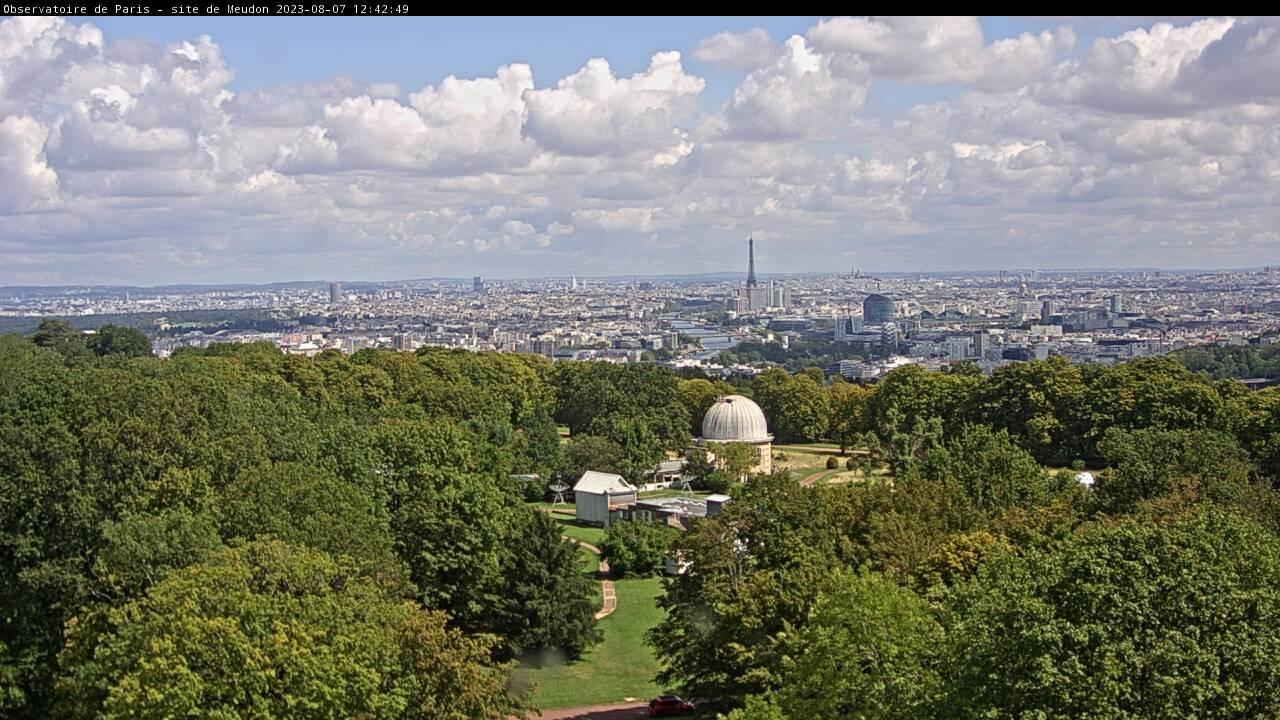 Webcam observatoire de Meudon Nord-Est
